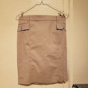 White House Black Market Pencil Skirt W/TabPockets